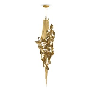 Mcqueen pendant light - Gold