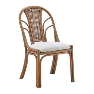 Milano chair - rattan - antique