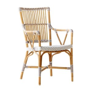 Monique chair armrest - Rattan