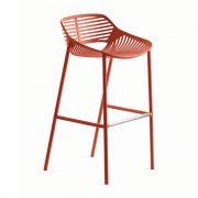 NIWA-bar-stool-coral-red