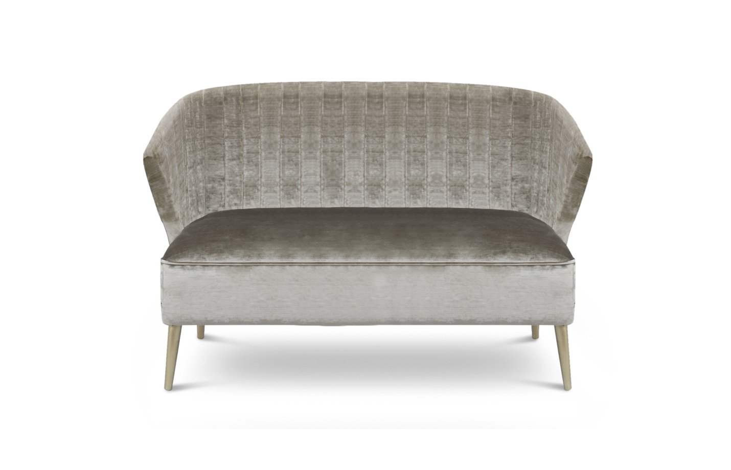 Nuka sofa two seater – light grey