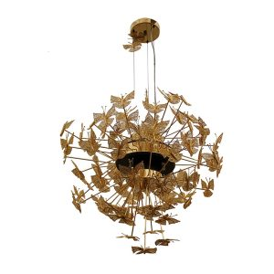 Nymph chandelier light - Gold