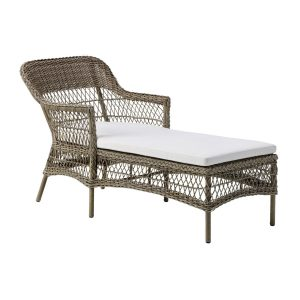 Olivia chaise lounger - Antique