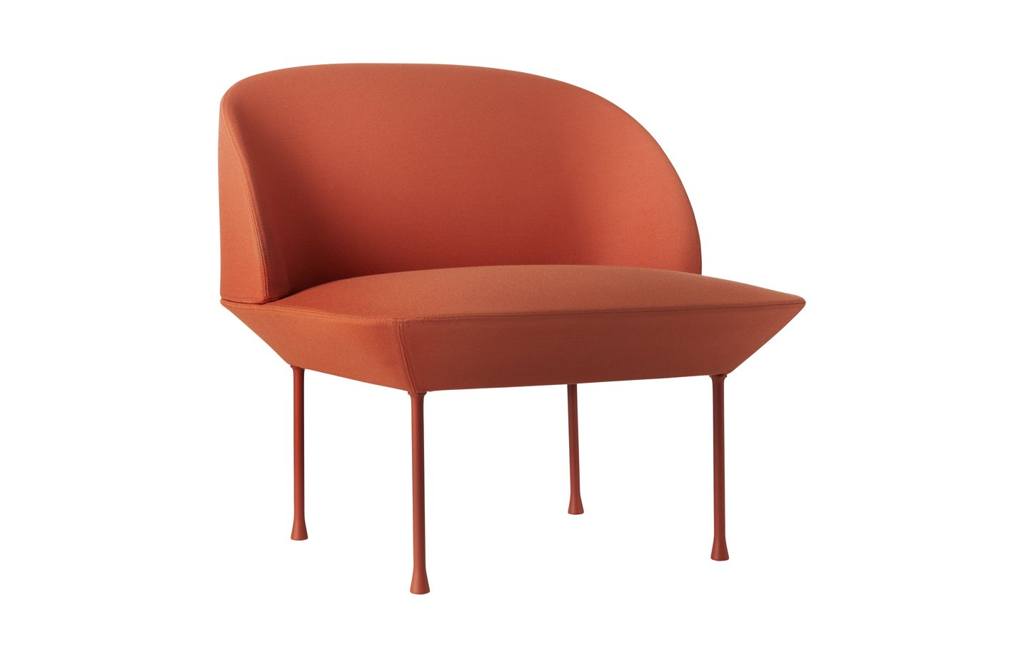 Oslo chair light tangerine – orange
