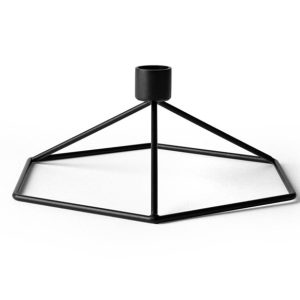 POV Candle holder Table - Black
