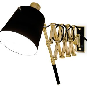 Pastorius wall light - Black