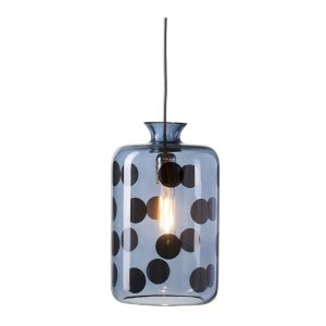 Pillar pendant dots lamp - Blue