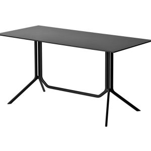 Poule table - rectangle - black