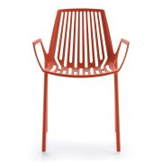 RION-armchair-Coral-Red