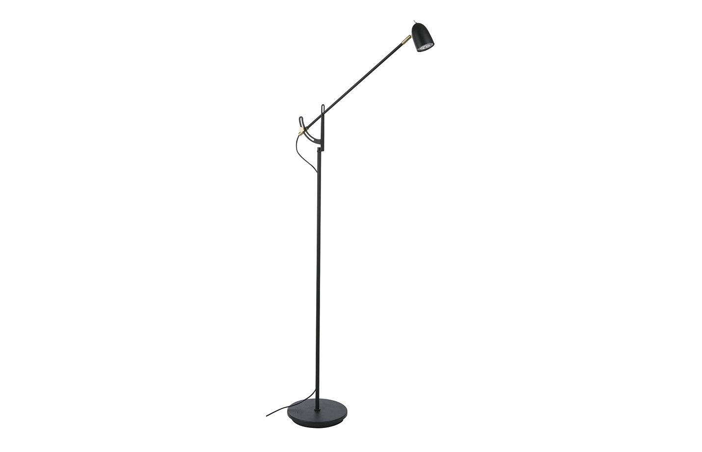 Radiell floor lamp – Black