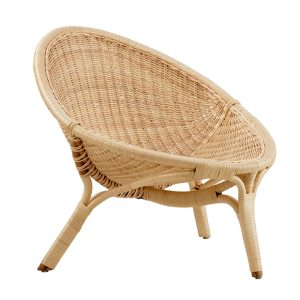 Rana chair - rattan - natural