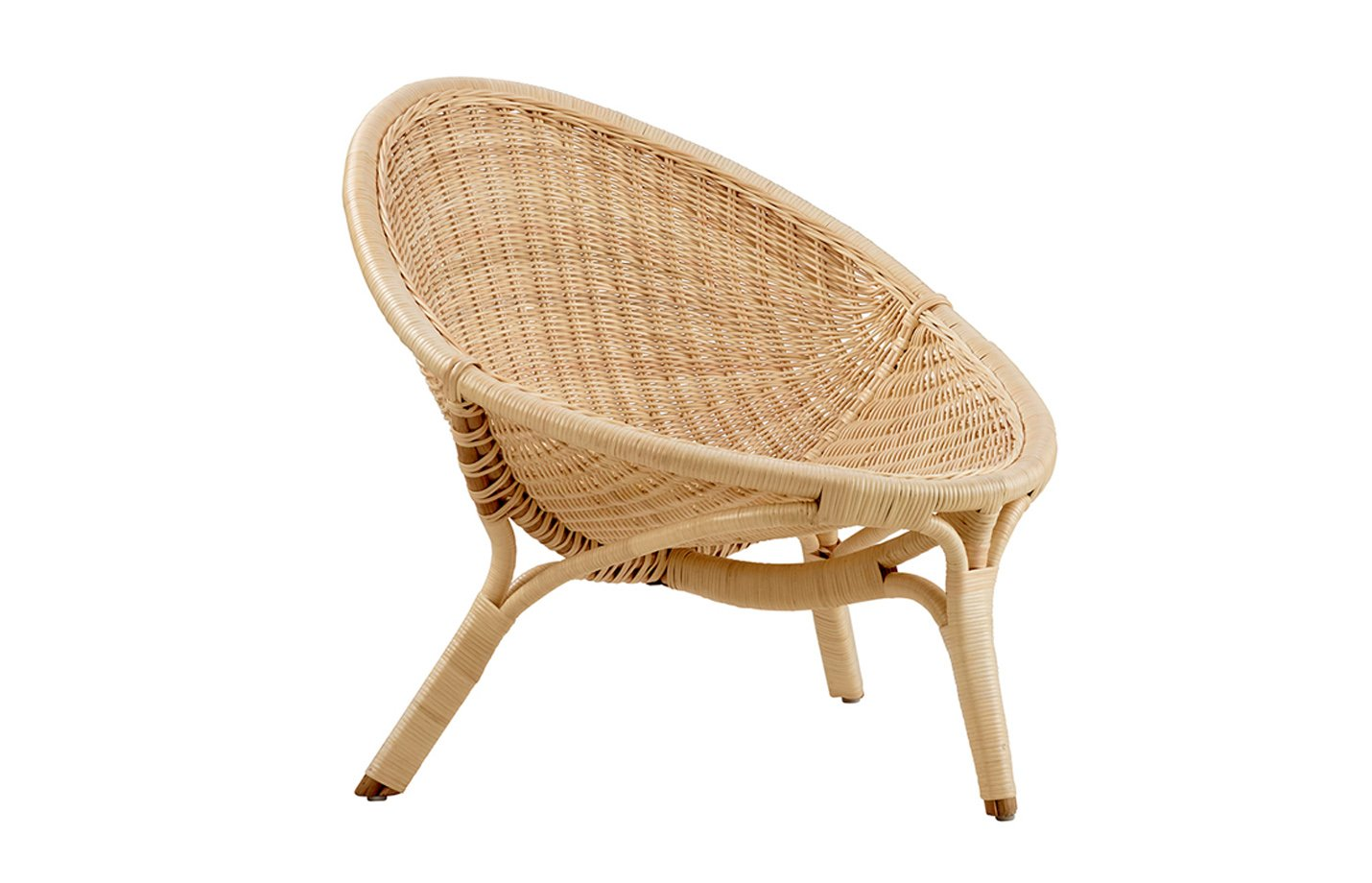 Rana chair – rattan – natural