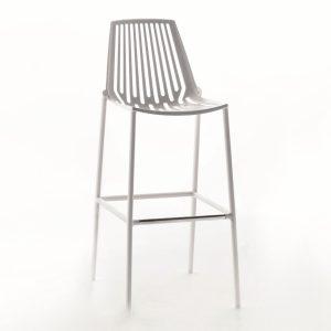 Rion Barstool - White