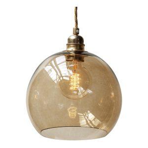 Rowan pendant lamp - Chestnut - Brown