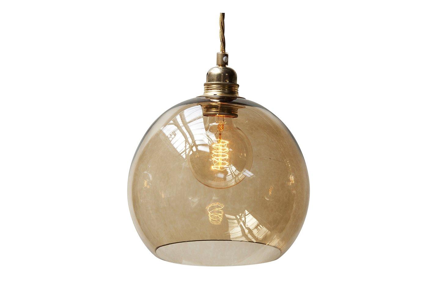 Rowan pendant lamp – Chestnut – Brown