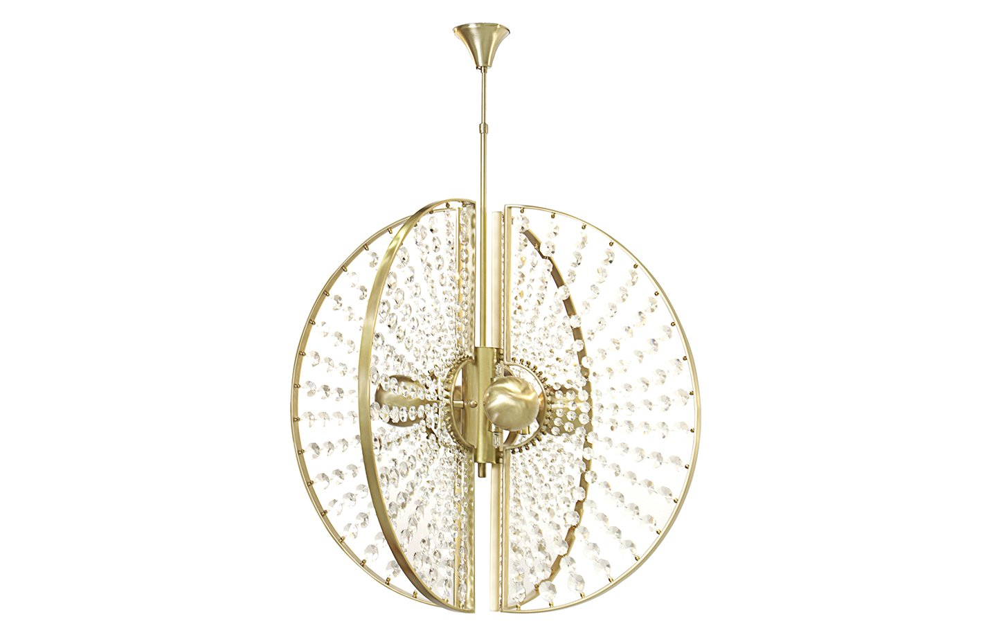 Roxy chandelier light – Brass