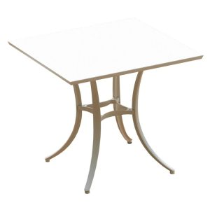 SOCIAL COLLECTION table - square - white
