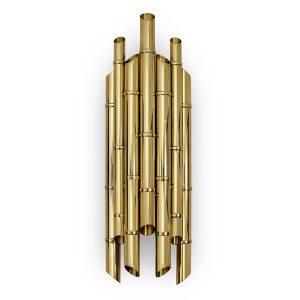 Saki wall light - Brass