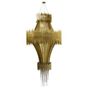 Scala chandelier light - Gold