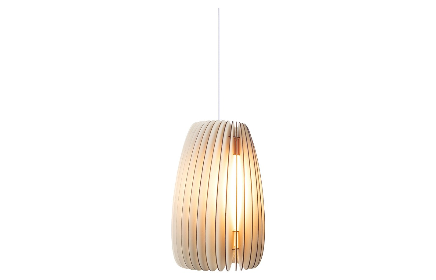 Secundrum Pendant Light – Medium – Natural