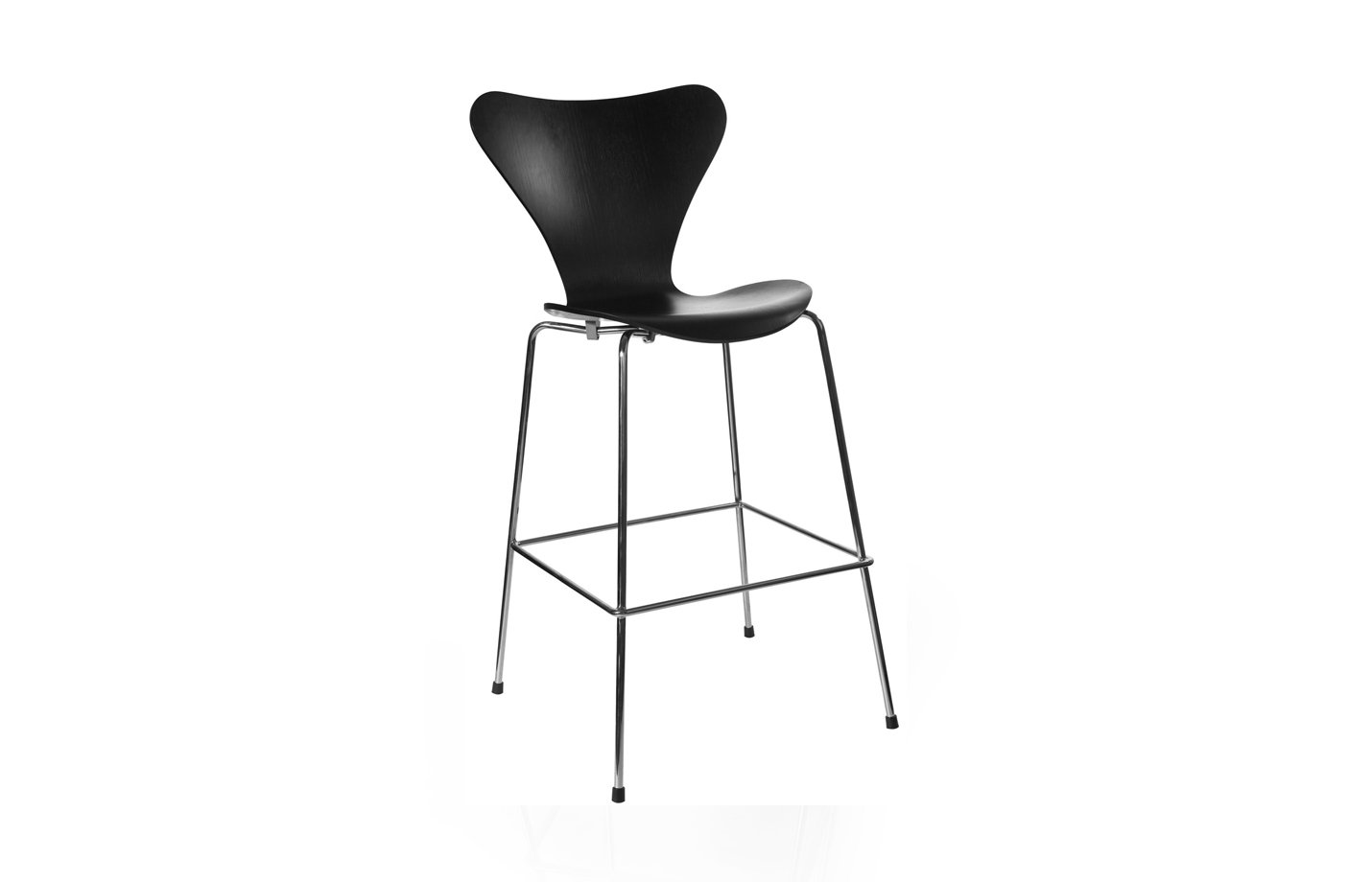 Series 7 bar stool – Black