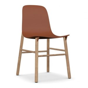 Sharky lounge chair - orange