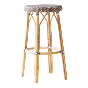 Simone bar stool - Brown