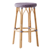 Simone-bar-stool-plum-white-dot