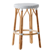 Simone-counter-stool-Grey-White-dot