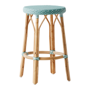 Simone-counter-stool-Salvie-green-White-dot
