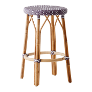 Simone-counter-stool-plum-white-dot