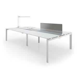 Sirius workstation table - white