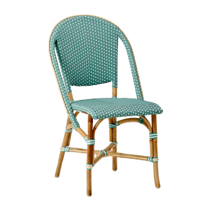 Sofie chair - Rattan - salvie green