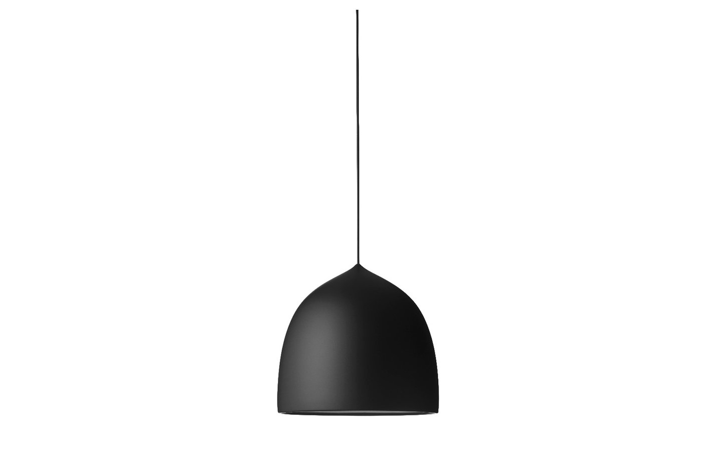Suspence pendant lamp black