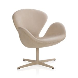 Swan lounge chair - beige