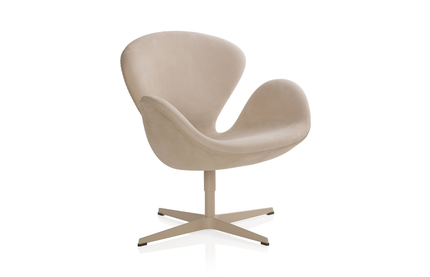 Swan lounge chair – beige