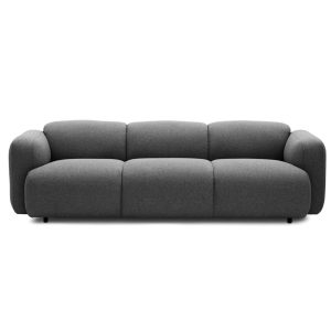 Swell sofa - three seater - grey