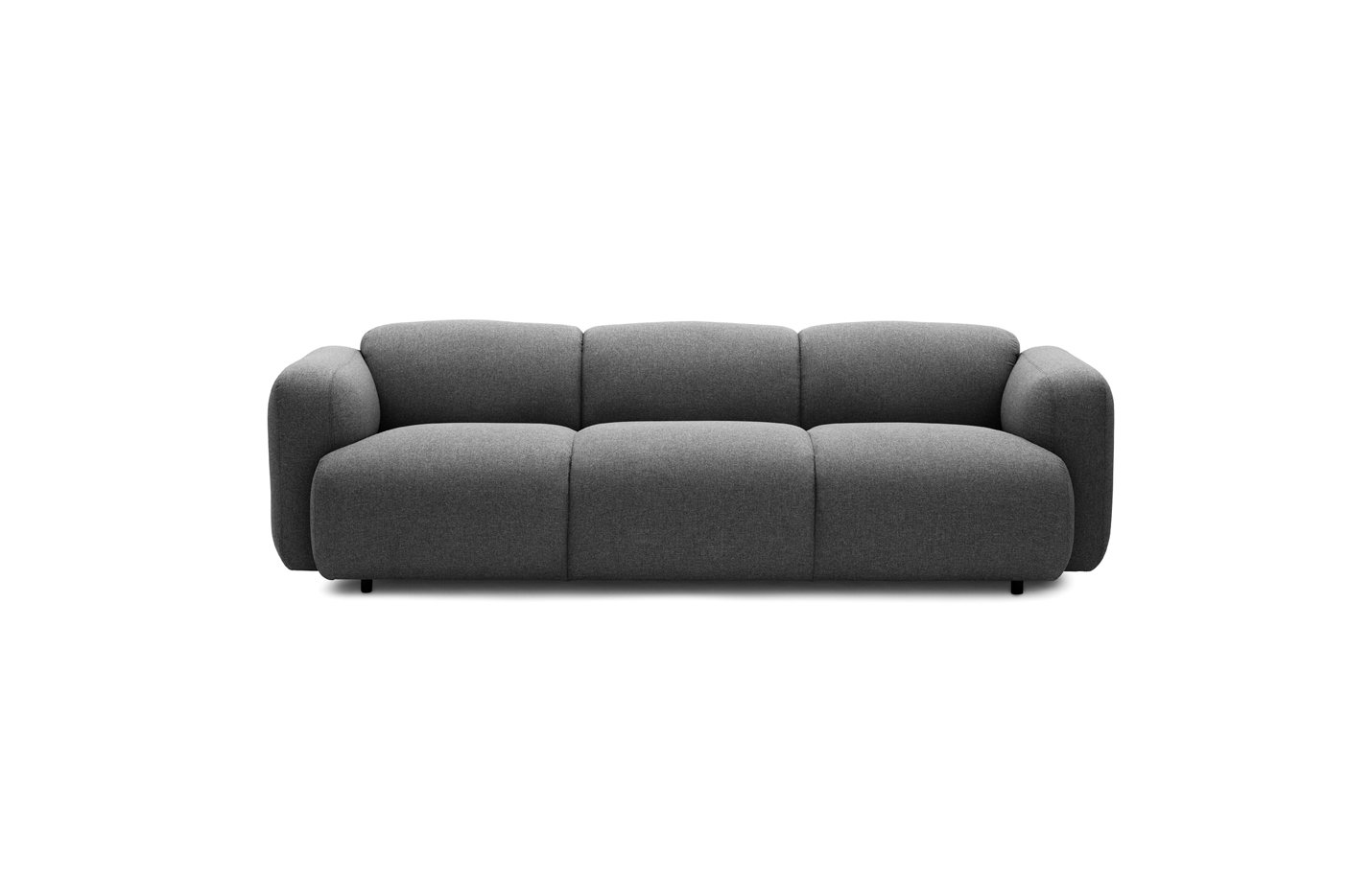 Swell sofa – three seater – grey