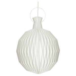 The lantern pendant light - small - white
