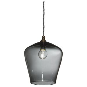 Traditional pendant lamp - Grey