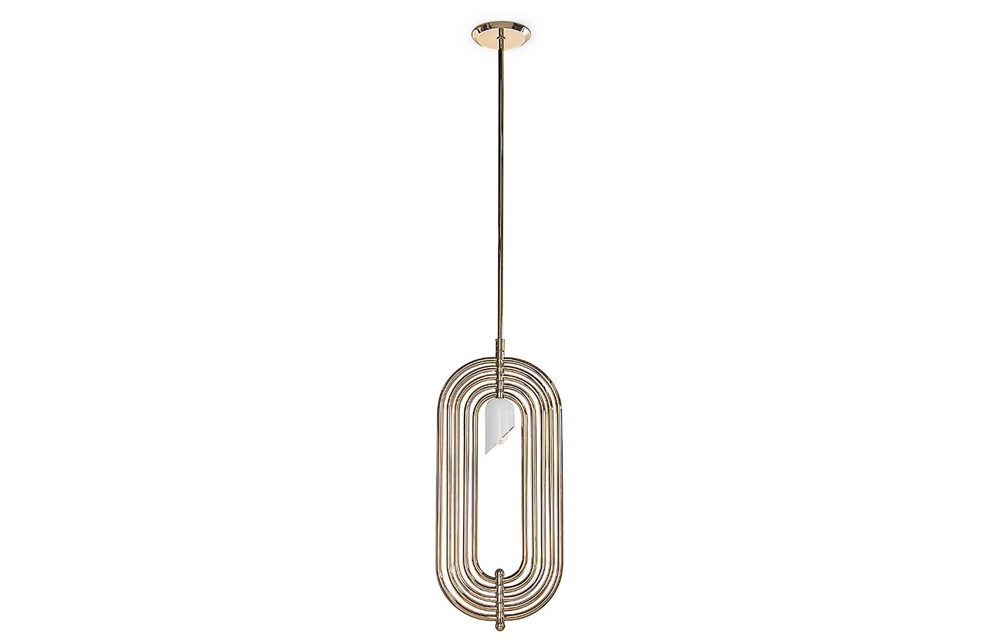 Turner pendant light – Gold