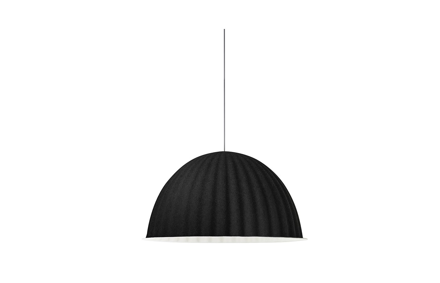 Under the bell pendant lamp – Black
