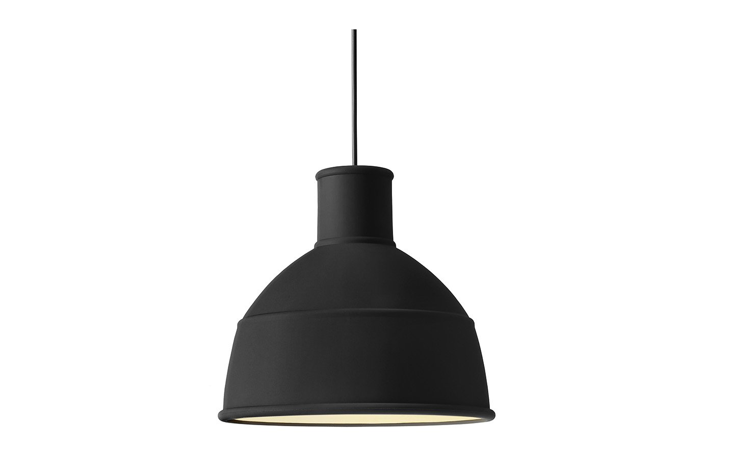 Unfold Pendant Lamp – silicone – Black