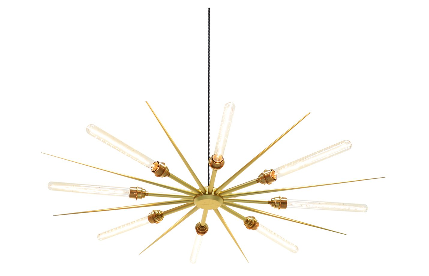 Vega 16 chandelier light – Gold