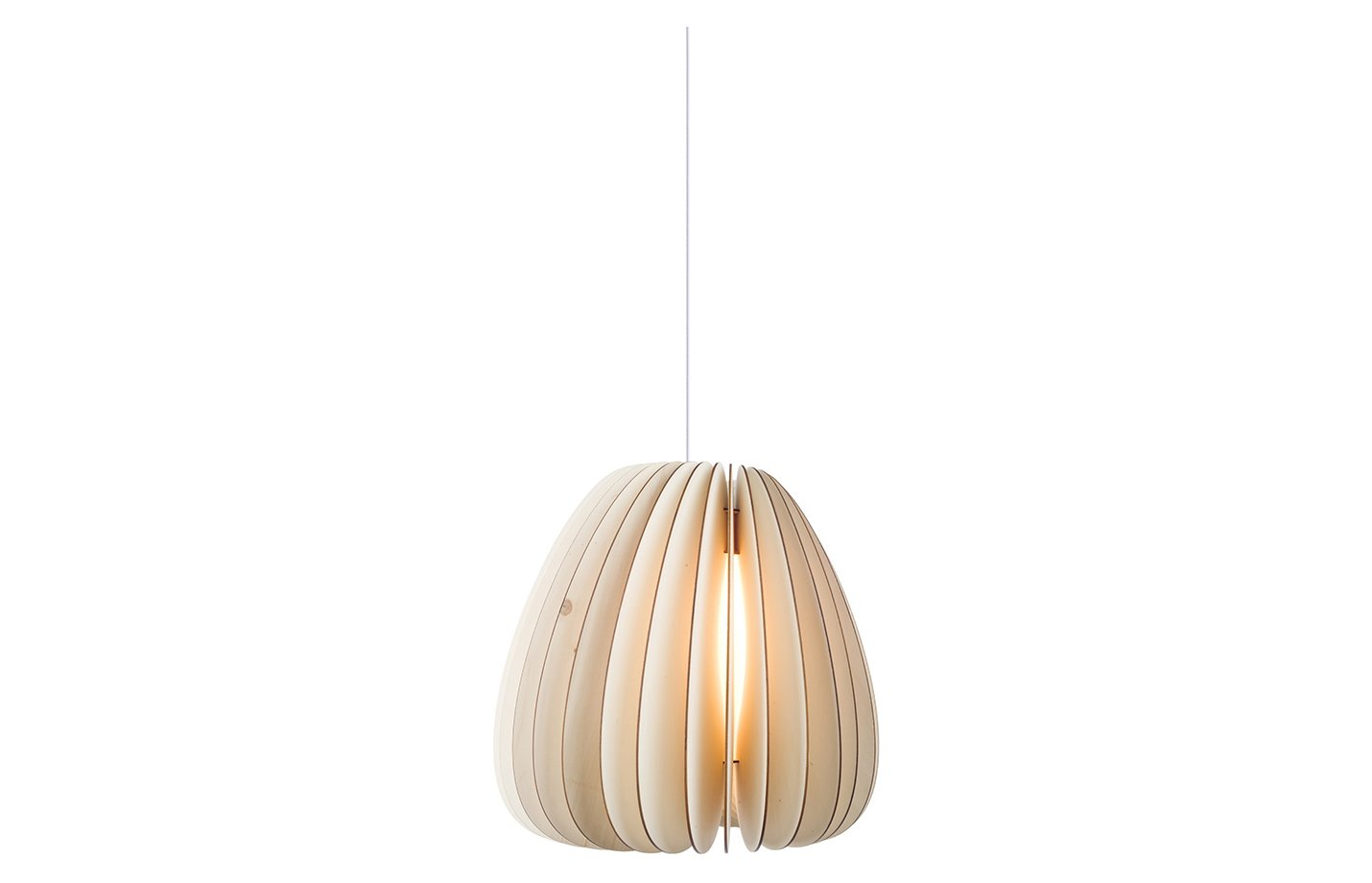 Volum Pendant Light – Large – Natural