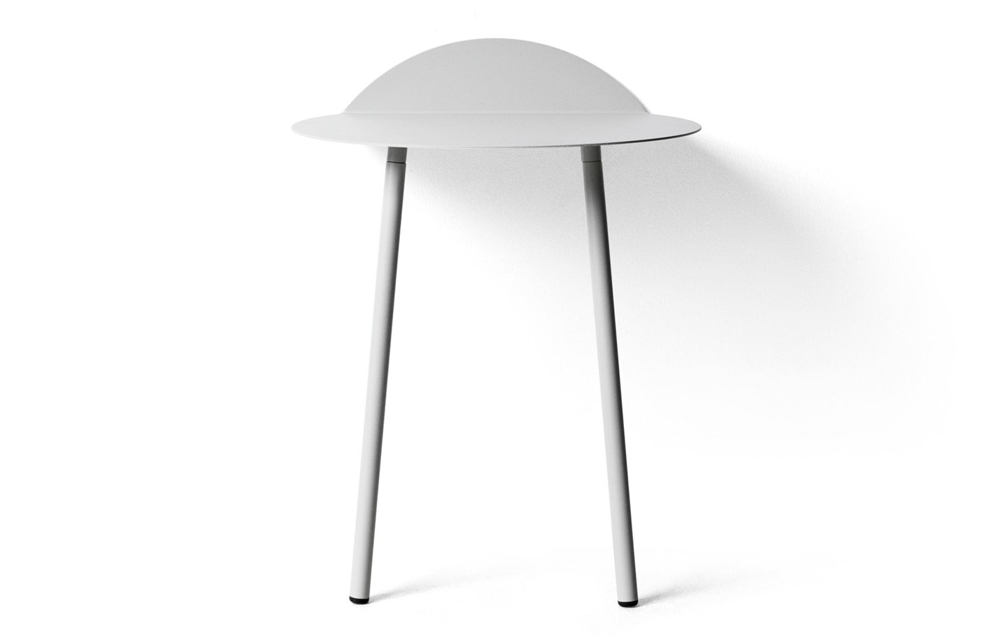 Yeh Wall Tables low small – white