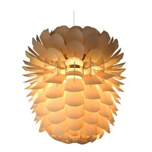 Zappy Pendant Light - Ash - Large - Natural