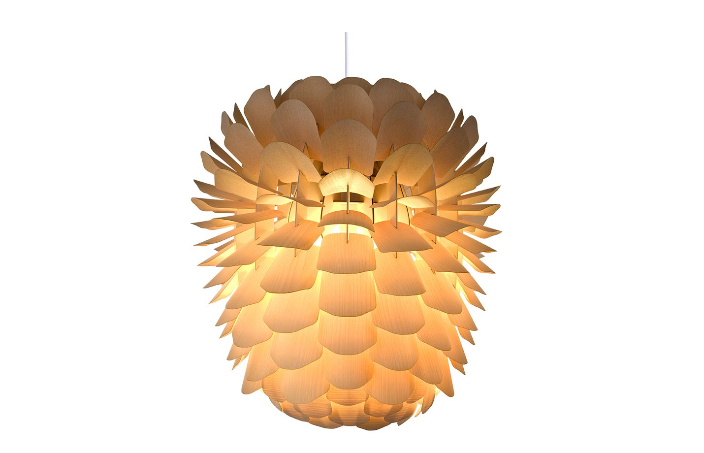 Zappy Pendant Light – Ash – Large – Natural