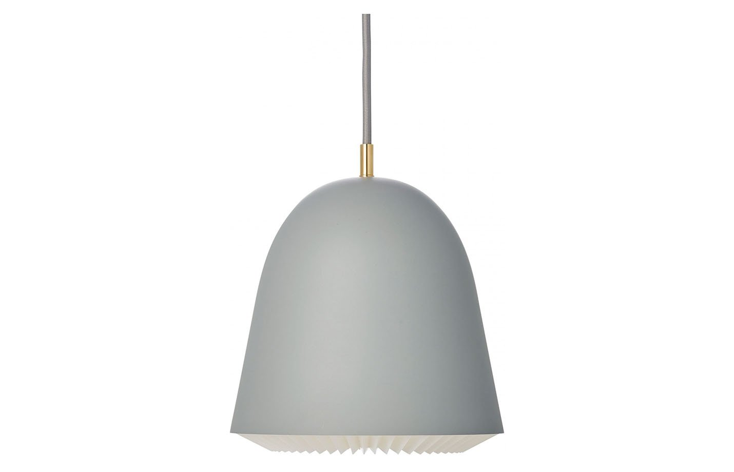 cache pendant light – medium – grey
