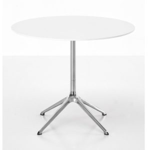 Elephant table - round - white